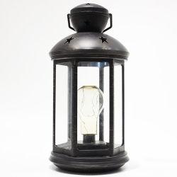 أثر قديم بلاستيكيّة [نول] بطارية يشغل دافئ أبيض [لد] [بولب ليغت] منزل داخليّة زخرفة عيد ميلاد المسيح فانوس