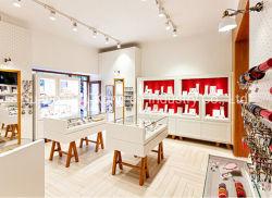Commerce de gros de bijoux boutique vitrine de magasin moderne et le compteur, de bijoux en verre Stand Cabinet d'affichage