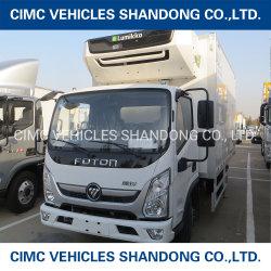 Cimc telaio 4*2 di Foton del nuovo prodotto 1.5 tonnellate di camion refrigerato isolamento