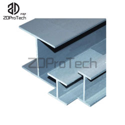 El peso de la luz de alta resistencia de materiales compuestos FRP I/ H-viga.