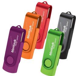 قرص USB محمول عالي الجودة محرك USB Stick USB مخصص وتدور سلاسل المفاتيح في إدارة محرك فلاش ثنائي الألوان بأسعار لا تضاهى تصل إلى 8 جيجابايت