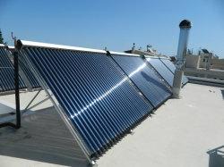 튜브 태양열 패널을 비대피시켰습니다