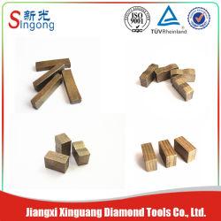 Schärfe Long Lifespan Diamond Segment für Stone Processing