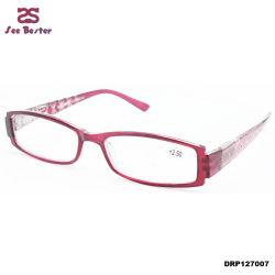Promotion usine directement les femmes de vente de diamants à bon marché de gros de lunettes de lecture