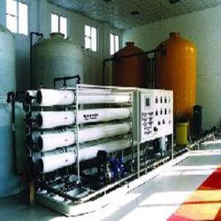 Sistema de desalinización de agua de mar