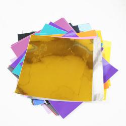 Commerce de gros adhésif magnétique Feuille d'artisanat décoré de feuilles en vinyle PVC coloré