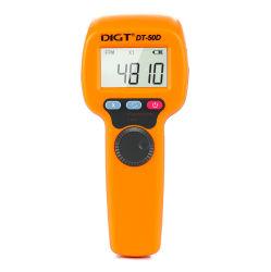 Flash stroboscope tachymètre révolution photoélectrique mètre Testeur de tachymètre 60~49999tr/min (DT50D)