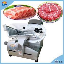 Automatischer elektrischer gefrorener Lamm-Rindfleisch-Huhn-Feinkostgeschäft-Fleisch-Schneidmaschine-Scherblock