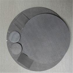 304، 316 قطر السلك 0.025-2.0مم نسيج شبكي ناعم من الفولاذ المقاوم للصدأ دائري Filter Discs