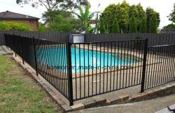 Esgrima de ferro de piscina barata com passagens de aço