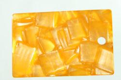 Feuille en acétate de cellulose utilisée pour châssis optique, Cheveux décoration, bouton, accessoires de mode (HL-0014)