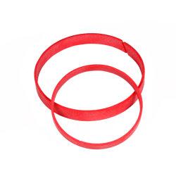 Kundenspezifischer hydraulischer phenoplastischer Gewebe-Abnützung-Ring/Führung Ring-Wr