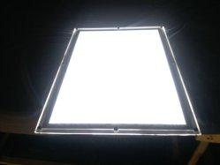 Casella chiara sottile di cristallo dello schiocco LED dell'alluminio per nel portello