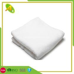贅沢はカスタマイズした表面テリータオルの白の100%年の綿によって刺繍されたWashcloth/のホテルの浴室タオル(02)を