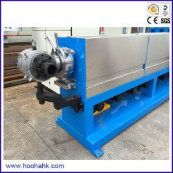 Blauwe Plastic Extruder voor de Productie van de Draad en van de Kabel