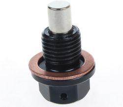 Lega di alluminio della spina del pozzetto dello scolo dell'olio dell'azionamento magnetico M14X1.5 M12X1.25