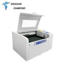 Gravierfräsmaschine-Leder-Kennsatz Laser-3D sterben Maschine 4060