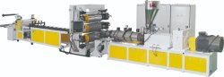 Belüftung-künstlicher Marmorplatten-Blatt-Vorstand-Plastikproduktionszweig Extruder-Maschine