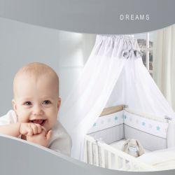 Klamboe van het Bed van de Luifel van het Beddegoed van de baby de Vastgestelde (YFK002)