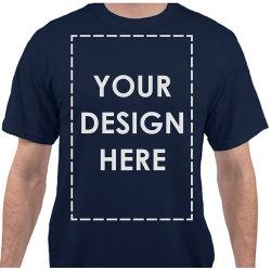 На заводе оптовой индивидуальные качества OEM хлопка мужчин раунда горловины печати красочных T футболка