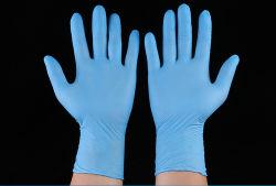 De grade médical de haute qualité Gants d'examen en nitrile jetables
