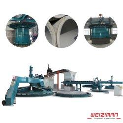 Bom Double-Position vibração vertical do tubo de concreto de fazer a máquina