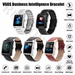 V60s Puls-Monitor-Armbandwasserdichter Wristband Sports intelligente Uhr