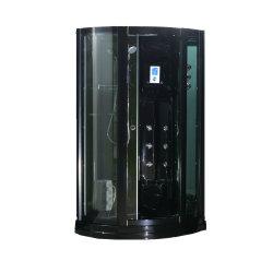 Baracca acrilica nera della doccia del vapore con il vetro Tempered di 6mm