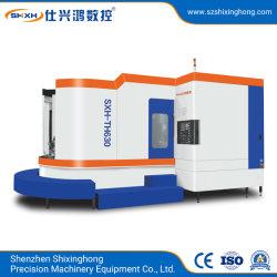 Machines de traitement des métaux fraiseuse CNC machine CNC Centre d'usinage horizontal avec Fanuc/Mitsubishi/Fagor/Heidenhain/Siemens/GSK/Syntec (SXH-TH630)