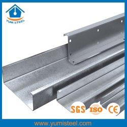 高強度高価格亜鉛めっきスチール製 C ルーフ / ウォールパーリン