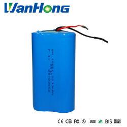 18650 7,4V Bateria recarregável de íon de lítio de 2200 mAh/ Bateria Li-ion/Bateria de Iões de Lítio/Bateria de iões de lítio para as luzes de emergência à prova de água