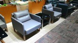 Populaires canapé en cuir de loisirs moderne pour le bureau et un salon