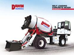 Hoge het Werk Efficiency die hoog Mixers van de Vrachtwagen van de Lading van de Snelheid de Zelf Mobiele mengen