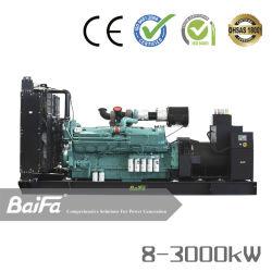 産業8-3000kwかCummins VolvoパーキンズMtu Doosan Baudouin Kubotaエンジンのよい価格によって動力を与えられる携帯用電気ディーゼル発電機セット