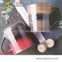 Mayorista de fábrica Barata 18oz de gres cerámico de la impresión de hueso nuevo de Viajes Personalizada taza de café