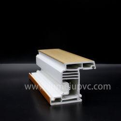 La Chine usine sans plomb de protection UV en PVC en plastique PVC Porte fenêtre Profils PVC Porte UPVC Windows Double vitrage PVC Profils Profils PVC