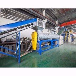 Fiocchi automatici dell'animale domestico che lavano la linea di produzione/fiocchi residui della plastica che ricicla i fiocchi della bottiglia animale domestico/della macchina