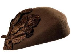 La moda de invierno lana tejida Beanie sombreros para dama