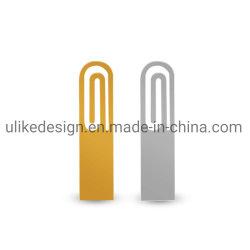 تحميل الورق الرخيصة شكل مشبك المعادن USB فلاش محرك 512 هدية ترقية سعة 8 جيجابايت و16 جيجابايت (UL-M093)