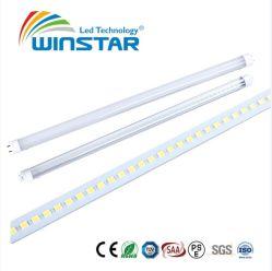 Reattanza elettronica Compatible/AC dell'indicatore luminoso del tubo del coperchio trasparente 100lm/W 8W-25W T8 LED direttamente