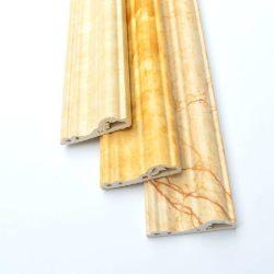 4/6/8/10/12/15 cm Belüftung-Schaumgummi-Türrahmen erstellt Ecken-UVbeschichtung-Marmor/hölzerne Entwürfe ein Profil