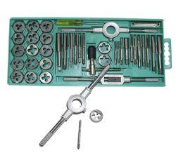 40 piezas de toque y juego de troquel esencial herramienta Threading