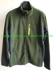 Дешевле пункт для мужчин на 100% полиэстер флис куртка