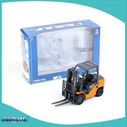 Вилочный погрузчик Kdw Toy 1: 20сплава модель погрузчика инженерные машины дети статической модели автомобиля игрушка