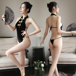 Women's Lingerie Sexy en chinois traditionnel Vintage Dudou Bellyband Underwear Nightwear