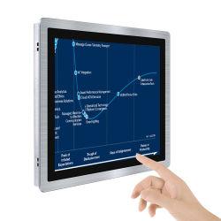 Open Frame Flat Panel Design Multi-Touch-beeldschermen 10 inch 12 inch 15 inch 17-inch 19-inch industriële touchmonitor voor kast