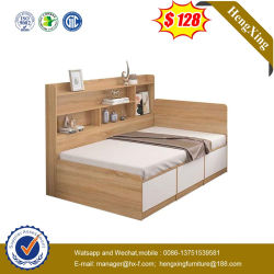 Basi di legno del re Queen Size Bunk Kids della camera da letto del salone dei bambini di legno moderni della mobilia singole doppie