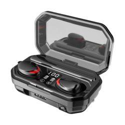 2021 M15 schnurlose Ohrhörer M15 TWS BT 5,1 Headset 9d Stereo-Ohrhörer Touch Power Bank Blue Tooth