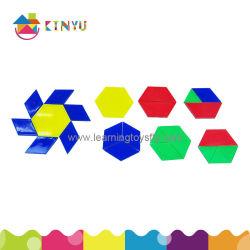 Pädagogische Manipulationsspielwaren-obenliegendes Muster Blocks/120