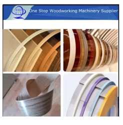 엣지 밴딩 목공 기계류 예비 부품/PVC 밴드/테이프/벨트/스트립 가구 장식품 목공 엣지 밴딩 액세서리(MDF 보드용